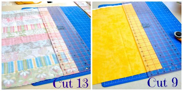 cutting strips