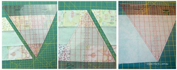 cutting triangles