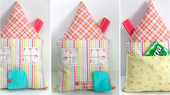 Tooth Fairy Pillow with Pockets