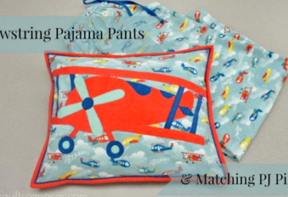 Drawstring PJ Pants