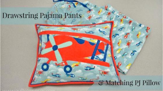Drawstring PJ Pants