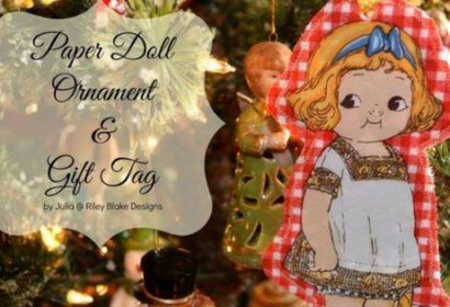 Paper Doll ornament