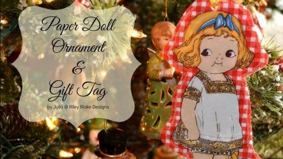 Paper Doll ornament