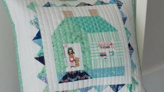 Jina's House Pillow