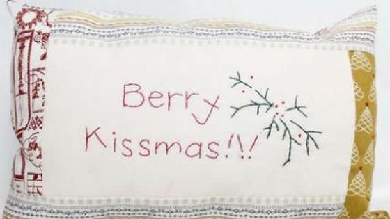Kissmas Pillow