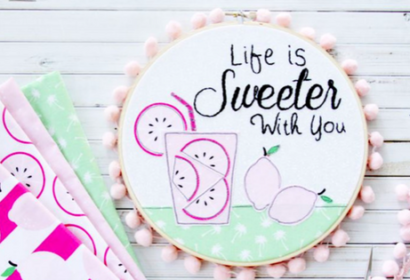 Embroidery Add Sugar