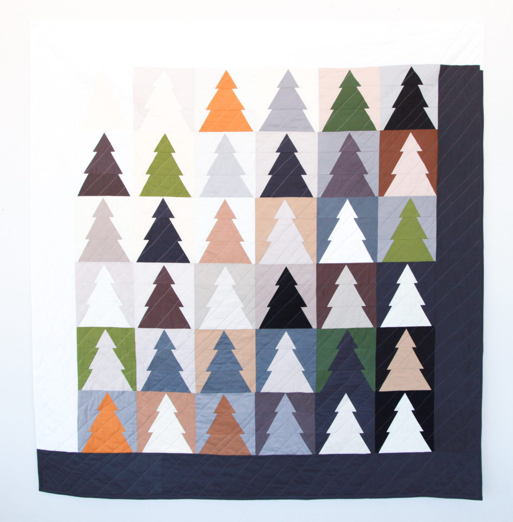 Confetti Cottons + Woodland Wander Quilt – Finished!