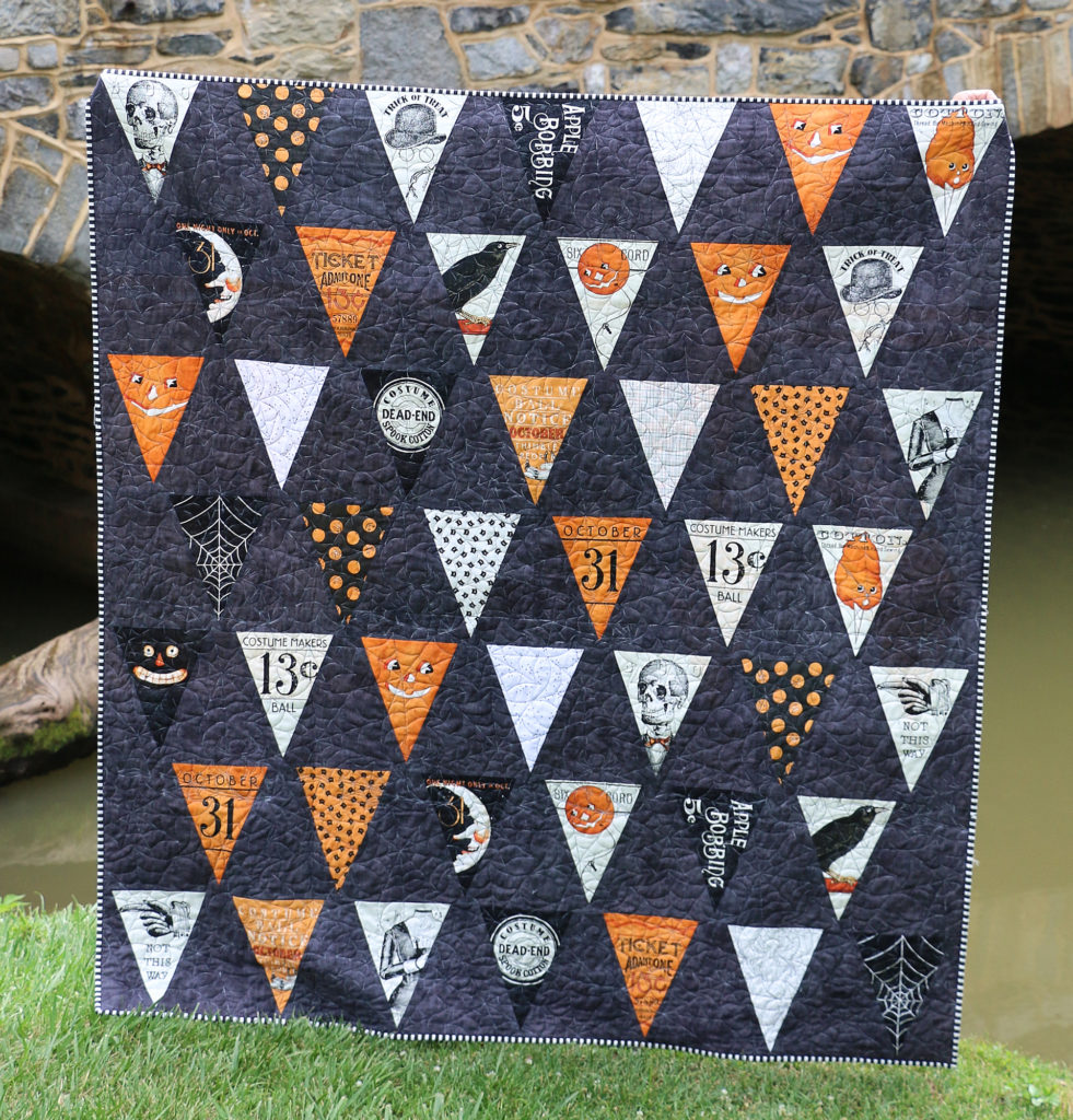 Costume Maker's Ball – Halloween Bunting Quilt