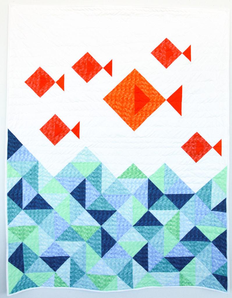 Kaleidoscope – Little Fishies Quilt