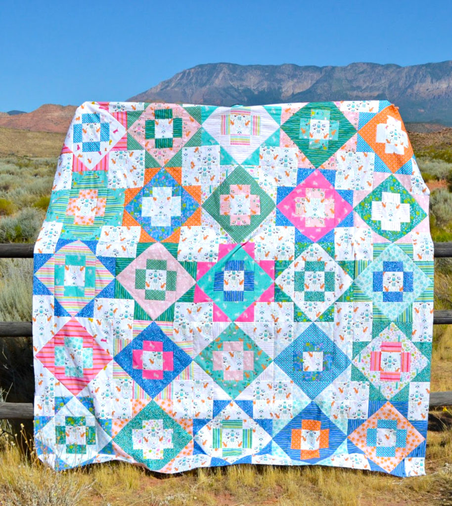Under the Canopy – Meadowland Quilt