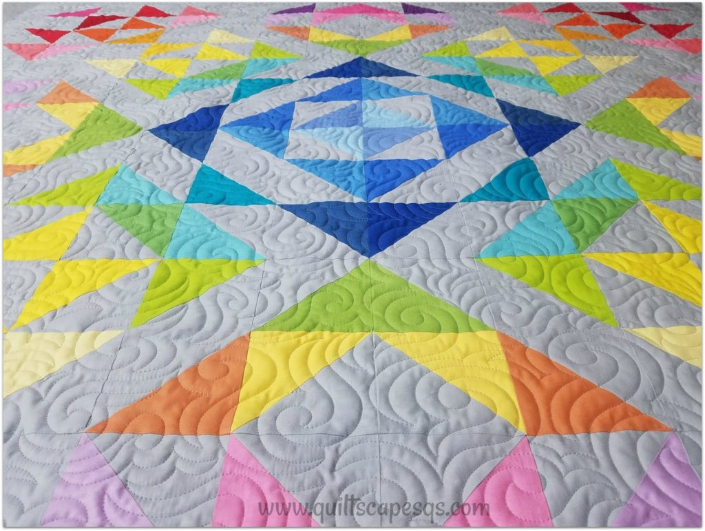 Confetti Cottons – Iridescent Star Quilt