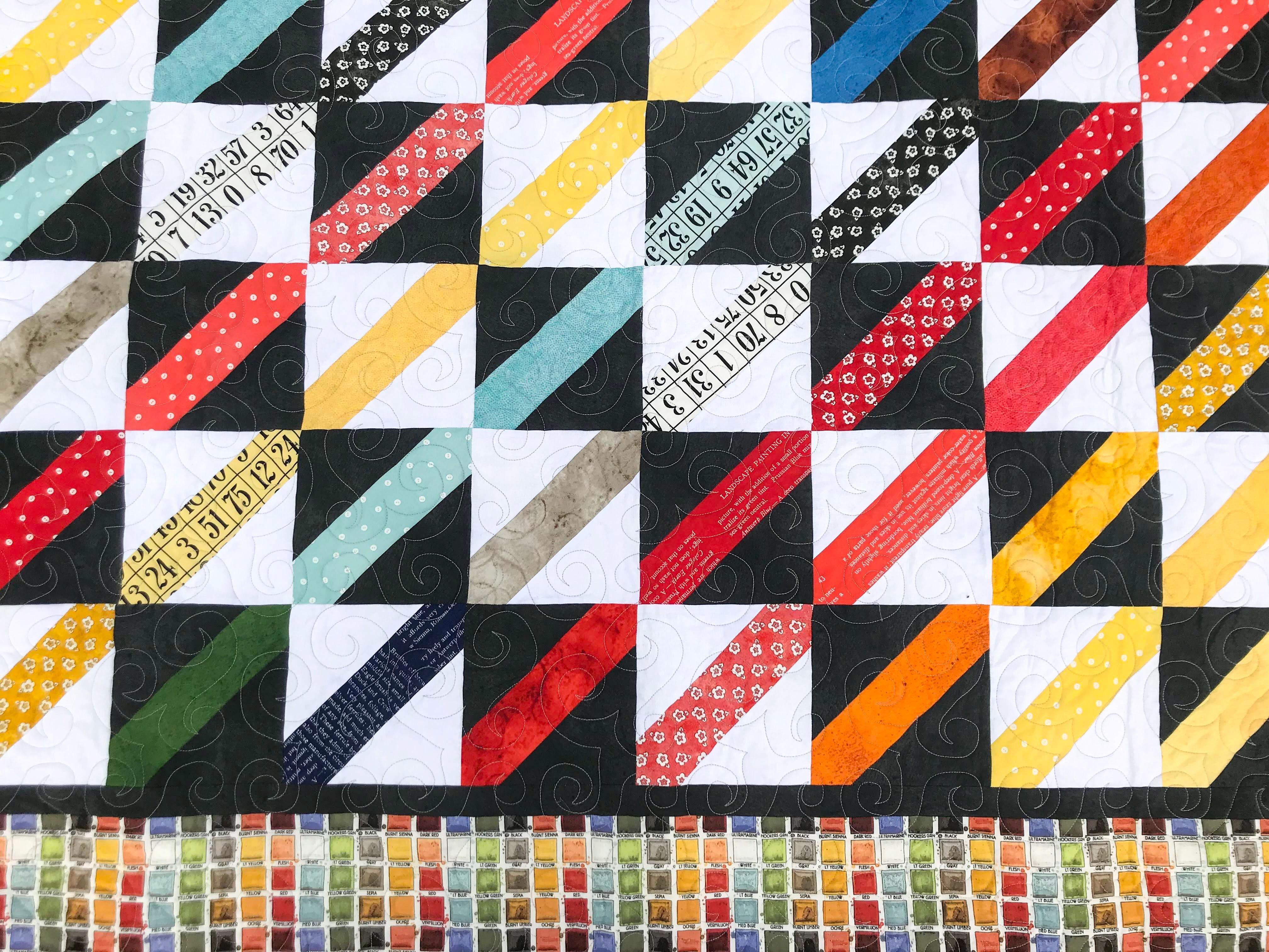Painter's Palette – Paint by Row Quilt