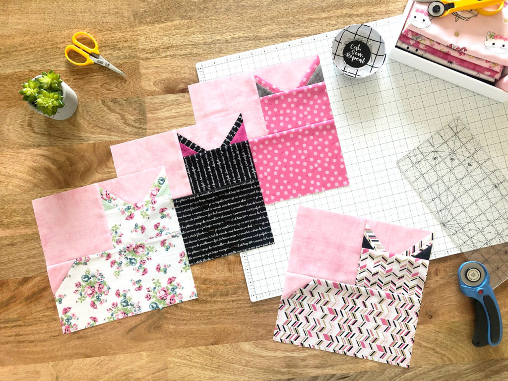 Chloe & Friends – Pins and Paws Block + Tutorial!