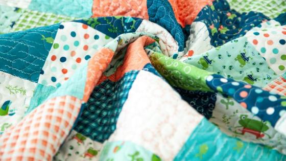 Ready Set Splash! – Patchwork Baby Quilt + Tutorial!